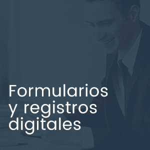 Formularios y registros digitales